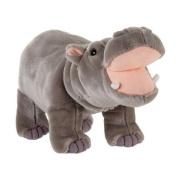 Fiesta Plush Standing Hippo 36cm