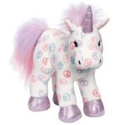 Webkinz Plush Stuffed Animal Peace Unicorn