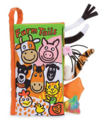 Little Jellycat - Farm Tails - Soft Baby Book