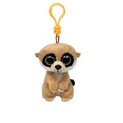 Ty Beanie Boo 7.6cm Key Clip - Meerkat Rebel by Ty - Shop Online for Toys  in New Zealand e98439bebd7
