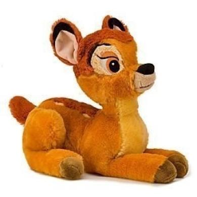 Disney Bedtime Story Bambi Plush Toy - Bambi Stuffed Animal [Toy]
