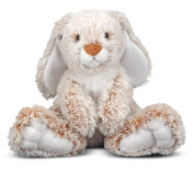 Melissa & Doug Princess Soft Toys 36cm Plush Burrow Bunny