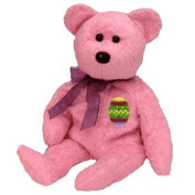Ty Beanie Babies Eggs the Bear (Pink Version) Retired [Toy]