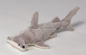 Wildlife / Domestic Animals : Hammer Head Shark 41cm Plush Stuffed Animal Toy