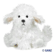 Webkinz Bichon Frise with Trading Cards