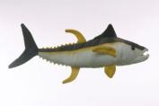 25cm Yellowfin Tuna Fish Plush Stuffed Animal Toy