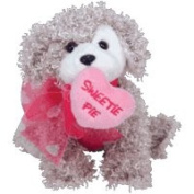Ty Beanie Babies Snookums the Dog Valentine's Day