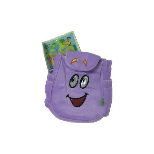 Dora the Explorer Plush Backpack Bag with Map by Nickelodeon - Shop Dora Plush Backpack With Map on