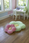 50cm Medium Pink Daisy Flower Pillow, Cushion Pillow, Girls Room & Baby Nursery decorative throw Pillow, Kids Room Decorative Plush Pillow