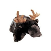 Pillow Pets Brown Pillow Pet- PeeWee Moose - 28cm