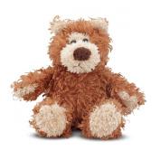 Melissa & Doug 9'' Plush Baby Roscoe Teddy Bear Stuffed Animal