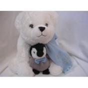 Penguin & Polar Bear Plush Toy 38cm Collectible