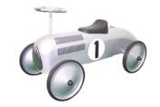 Speedster Racer Silver Pedal Car