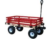 Millside Industries MDW 41cm . x 90cm . Classic All Wood Express Waggon with 10cm . x 25cm . Tyre