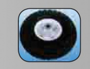 Millside Industries 02211 10cm . x 25cm . Pneumatic Tyre