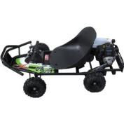 ScooterX Baja Powerkart 49cc Black/Green