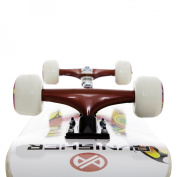 Punisher Skateboards Butterfly Jive Complete 80cm Skateboard with Canadian Maple