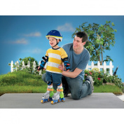 Fisher Price Grow With Me 1,2,3 Boy's Inline Skates - Blue
