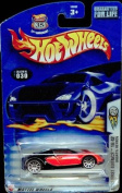 Hot Wheels 2003-030 First Editions Red & Black Bugatti VEYRON 1:64 Scale Highway 35