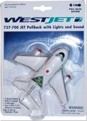 Daron Worldwide Trading TT164 Westjet Pullback with Light and Sound