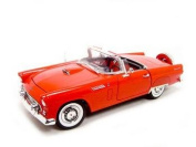 1956 Ford Thunderbird Red 1:18 Diecast Model
