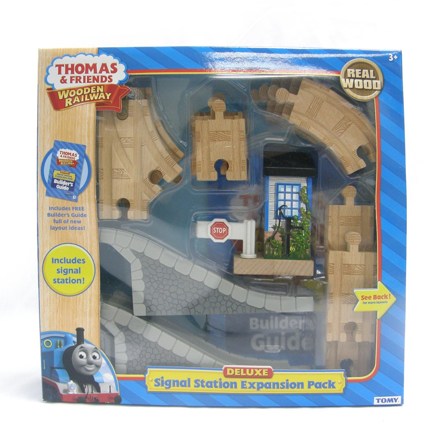 Thomas And Friends Wooden Railway Deluxe Signal Station Expansion Pack