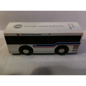 Munipals CTA New Flyer Hybrid Bus Wooden Toy Vehicle
