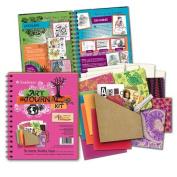 Art Journal Kit-Hot Pink