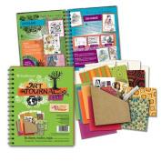 Art Journal Kit-Lime Green