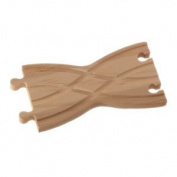 Wooden Train Track Cross Shed Adapter Fits Thomas Train Track