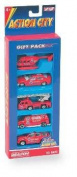 Daron Real Toy Actiion City Fire Department Gift Pack