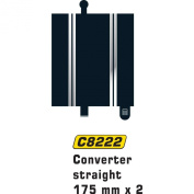 Scalextric C8222 Converter Straight 175 millimetre x2 1:32 Scale Accessory