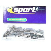 Scalextric C8255 Track Fixing Middle Clips x50 1:32 Scale Accessory