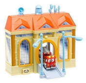 Firehouse Tales Deluxe Playset w/ 8.9cm . Vehicle