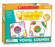 Teachers Friend TF-7153 Vowel Sounds Learning Puzzles