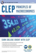 CLEP(R) Principles of Macroeconomics Book + Online