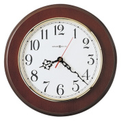 Brentwood Wall Clock, 11-1/2in, Cherry, 1 AA Battery