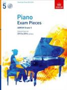 Piano Exam Pieces 2013 & 2014, ABRSM Grade 5, with CD