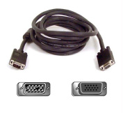 Pro Series SVGA Monitor Extension Cable, HD-15, 10 ft., Black