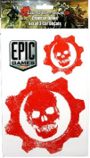 Gears of War 3 - Red Omen Car Decals Set of 3