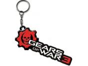 Gears of War 3 - Logo Metal Key Chain