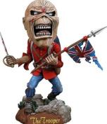 "Neca Iron Maiden Eddie Trooper Head Knocker Bobble Head 8"""