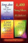4,400 Song Ideas