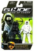 G.I. Joe Movie The Rise of Cobra Action Figure - Snake Eyes Arctic Assault