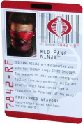 G.I. Joe The Rise of Cobra Action Figure - Red Fang Ninja Cobra Ninja