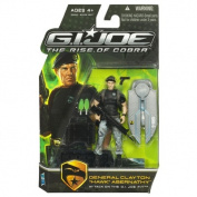 "G.I. Joe The Rise of Cobra Action Figure - General Clayton ""Hawk"" Abernathy Attack on the G.I. Joe Pit"