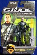 "G.I. Joe The Rise of Cobra Action Figure - Conrad ""Duke"" Hauser Reactive Impact Armour"