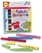 Alex Toys 8 Fabric Markers