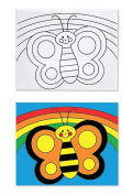 Melissa & Doug Canvas Creations-Butterfly
