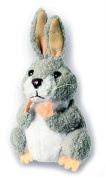 Finger Puppet Grey Rabbit